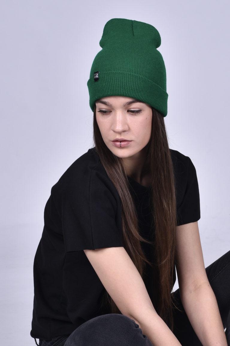 Čepice zelená