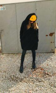 mikina černá