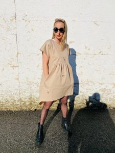 šaty popellino