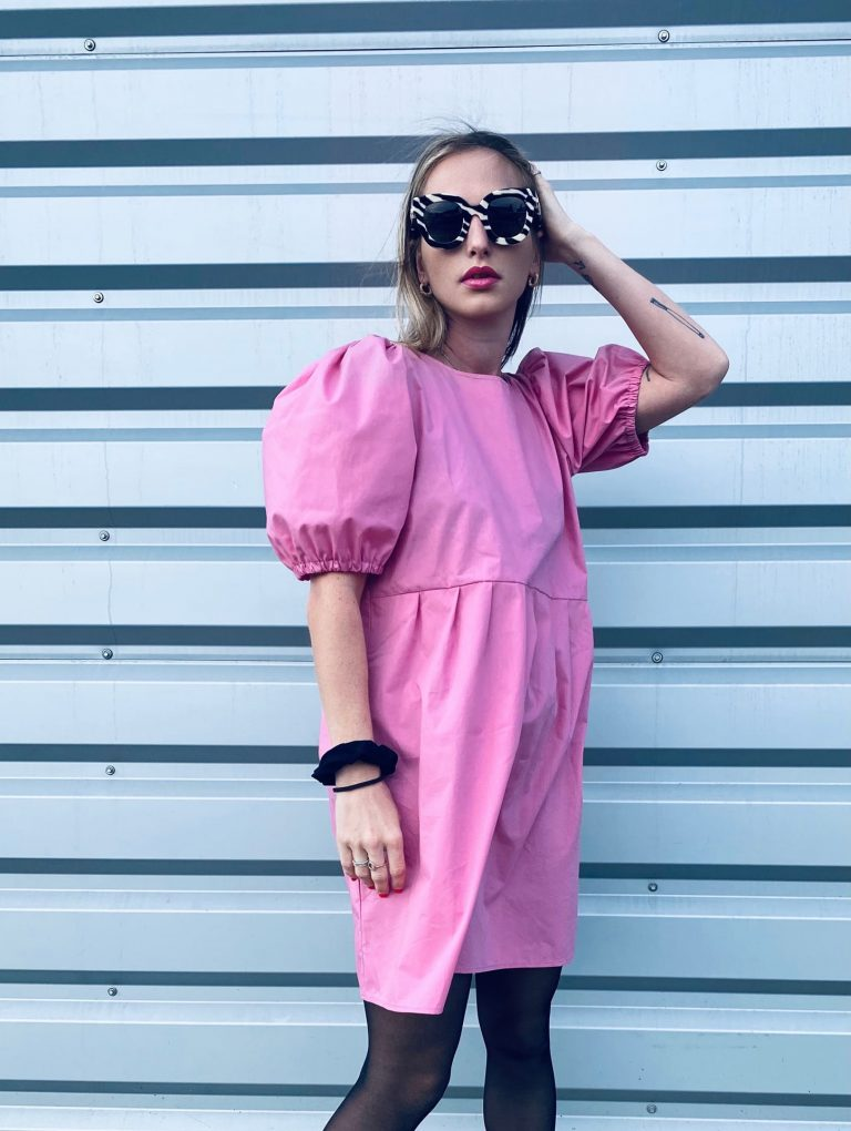 """Šaty růžové """"BONBON"""""""