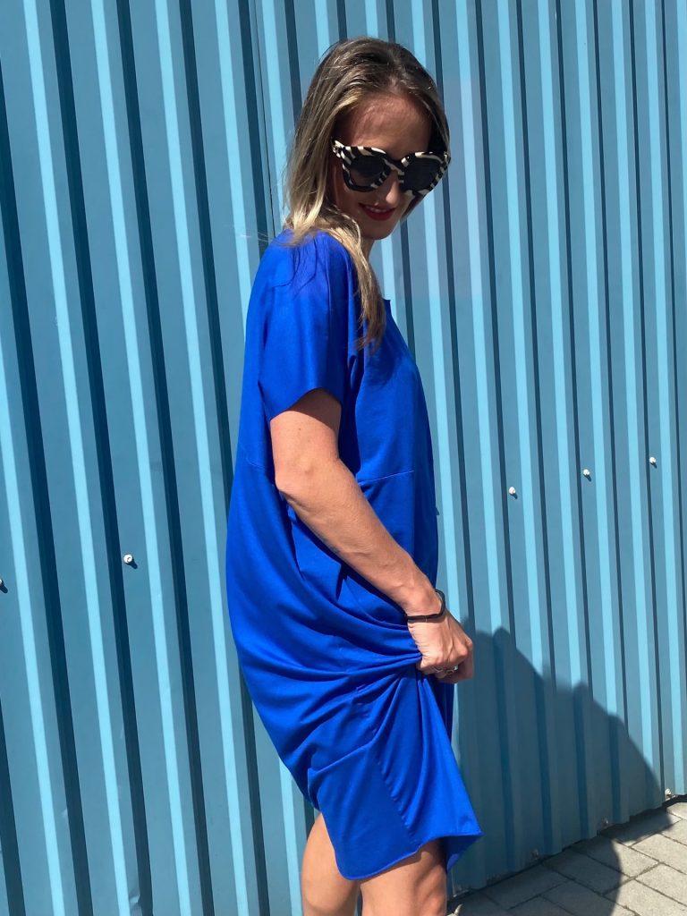 "Šaty ""PURE"" modré"