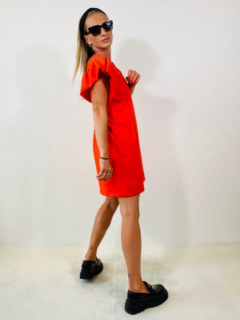 "Šaty ""WOLLAN"" červené"