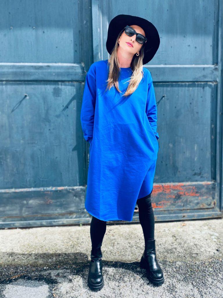 "Mikino-šaty cobalt ""NUN"""